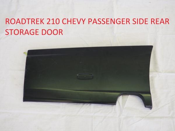 Roadtrek 210 Chevy passenger side storage door