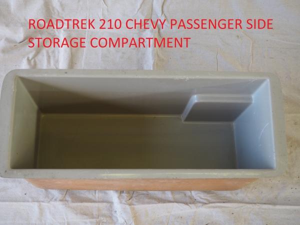 Roadtrek 210 passenger side storage bin