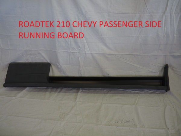 Roadtrek 210 passenger side running board