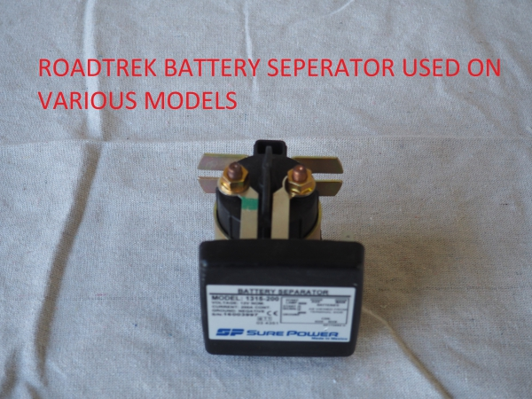 Roadtrek battery separator