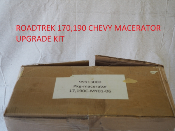 Roadtrek 170,190 macerator upgrade kit