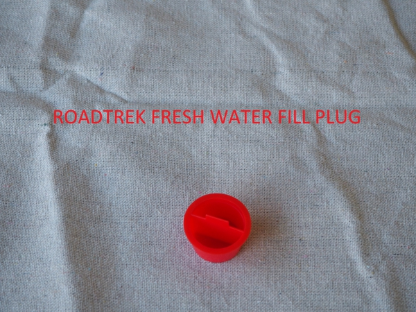 Roadtrek fresh water fill plug