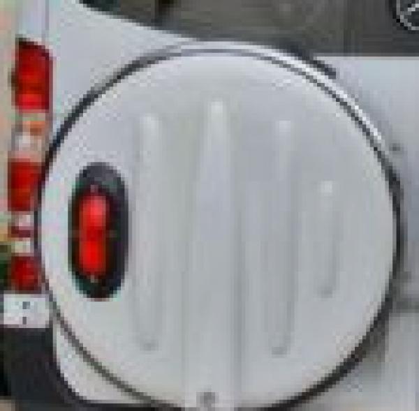 Spare tire dish cover