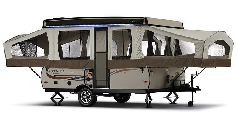 2017 FOREST RIVER ROCKWOOD 1640LTD