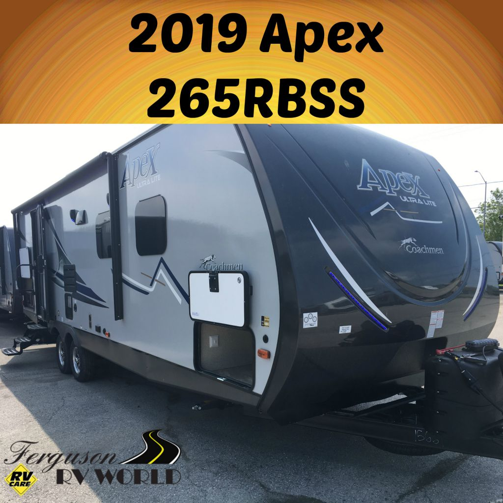2019 COACHMEN APEX 265RBSS