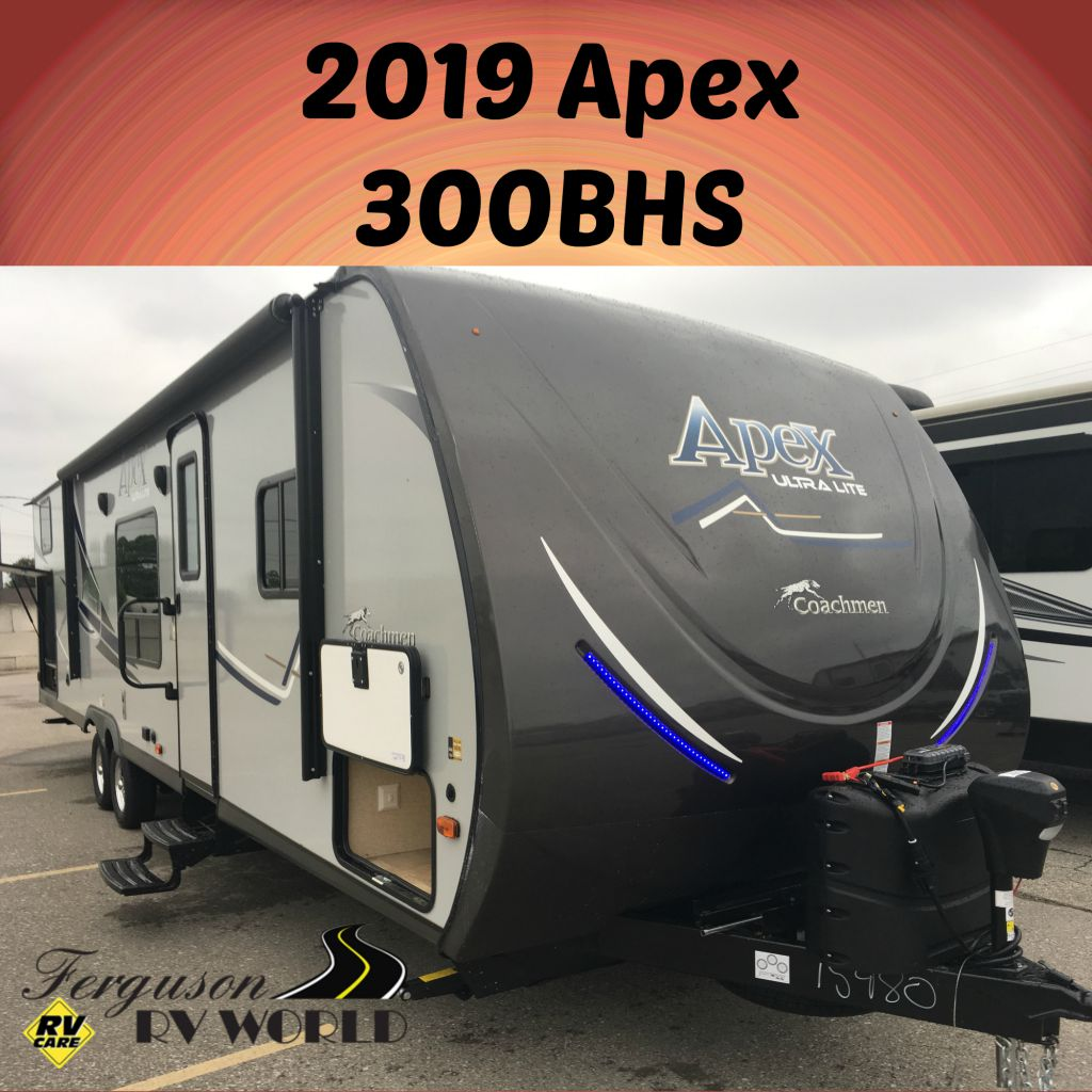 2019 FOREST RIVER APEX 300BHS