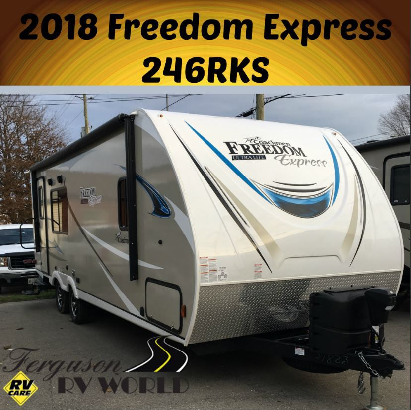 2018 FOREST RIVER FREEDOM EXPRESS 246RKS