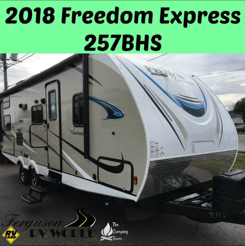 2018 COACHMEN FREEDOM EXPRESS 257BHS