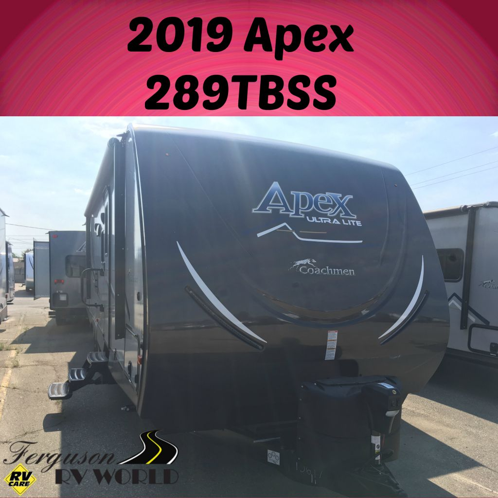 2019 COACHMEN APEX 289TBSS