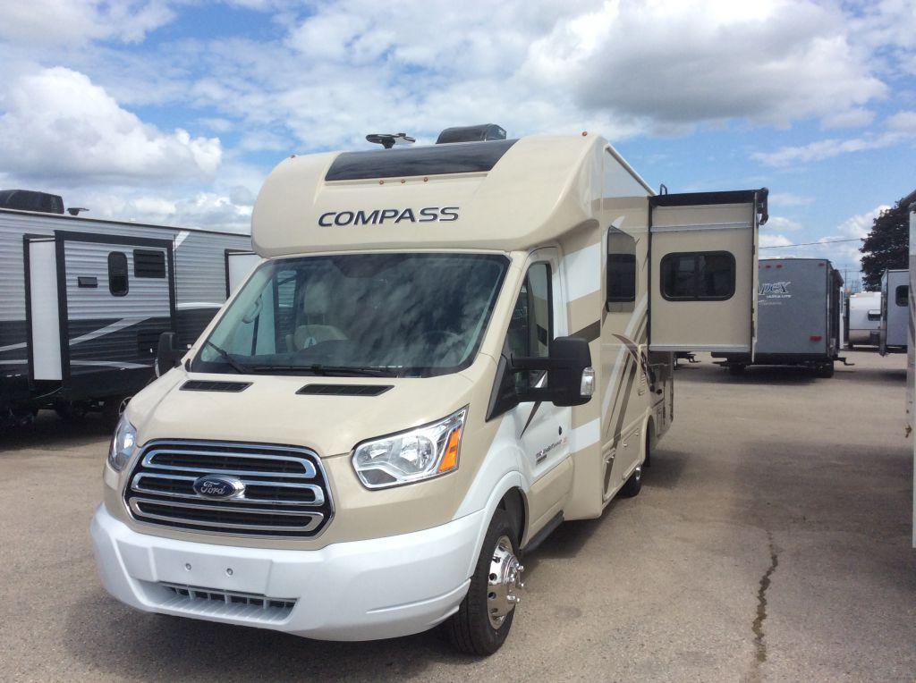 New 2018 thor motor coach compass 23tb motorhome 534472 for Thor motor coach rv