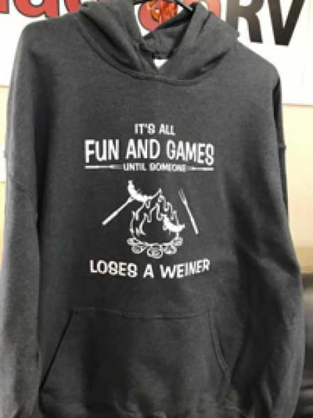 Its all fun and games HOODIE UNISEX