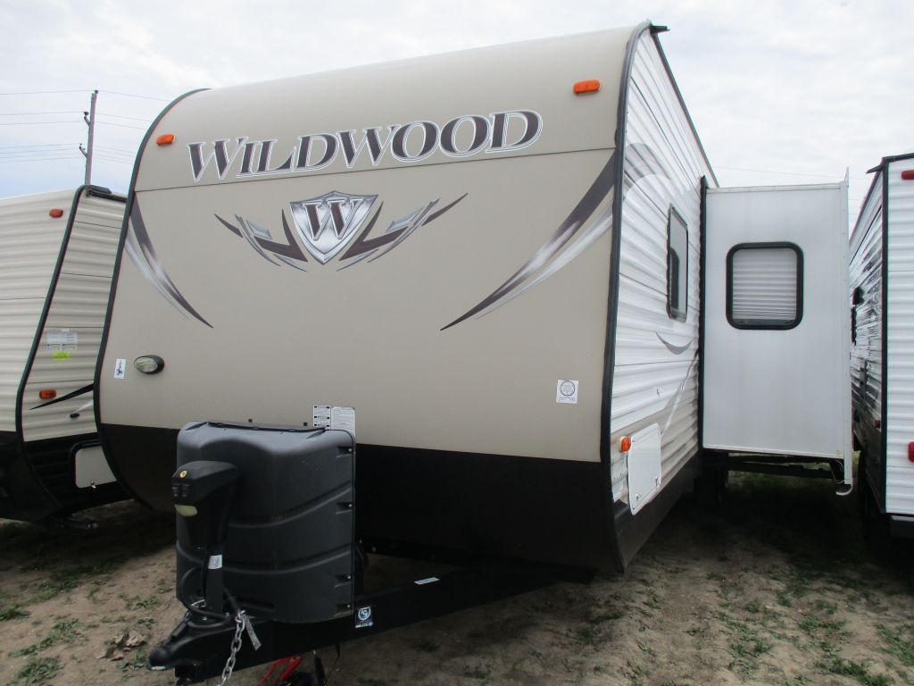 2015 FOREST RIVER WILDWOOD 30KQBSS
