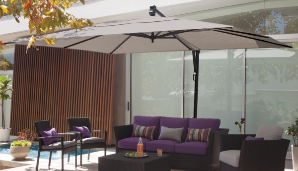 Jordan Cast Wicker 10 39 X 13 39 Akz Cantilever Umbrellas