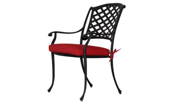 Jordan Cast Wicker Denver Dining Chair