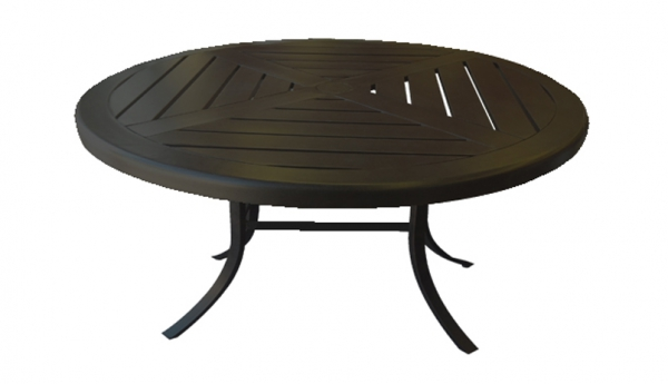 Jordan Cast Wicker Colorado 42 Round Coffee Table