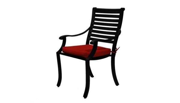 Great Modern Aluminum Outdoor Patio Furniture Montana Dining Chair With Sunbrella  Fabric Cushion