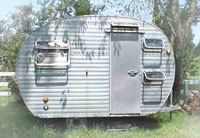 The Lil Abe travel trailer
