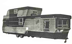 Richardson Regent Bi-Level two-storey trailer