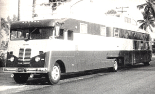 18 ton Executive Flagship coach and trailer
