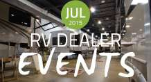 RV Dealer Events: July 2015