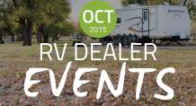 RV Dealer Events: October 2015