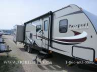 EXTERIOR SIDE - KEYSTONE PASSPORT 3290BH FOR SALE ONTARIO