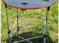 TABLE-IIT ROUND FOLDING CAMPING