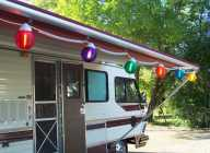 Canadian RV Multi-Colored Globe Lights