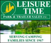 Visit Leisure Time Park & Trailer Sales Inc.'s RV Dealer Page