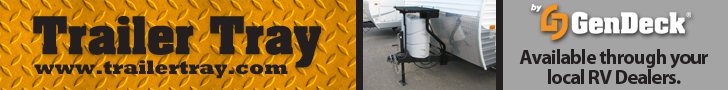 Trailer Tray - Available through your local RV Dealers